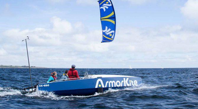 Kite pour bateau